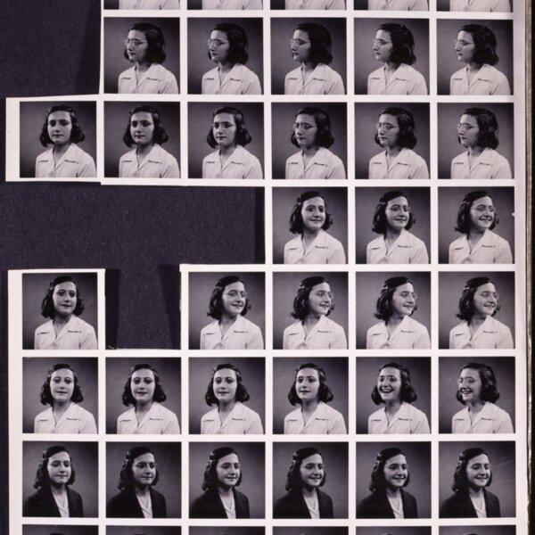 Anne Frank passport photos. © Anne Frank Foundation