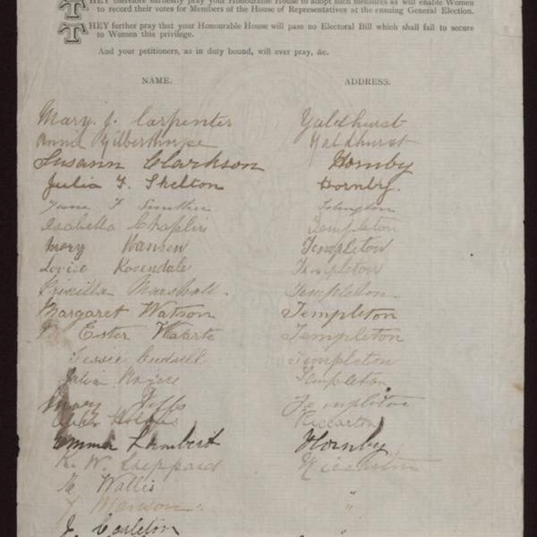 K. W. Sheppard_s signature, First Sheet. © Archives New Zealand