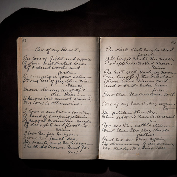 'Core of My Heart' Manuscript (2). © State Library of New South Wales