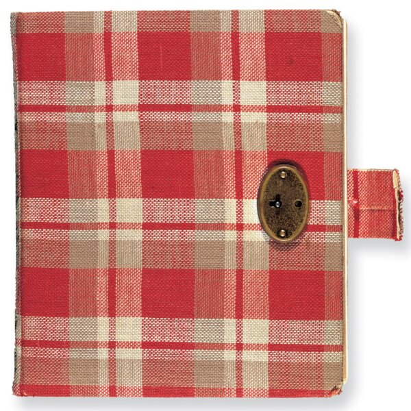 Anne Frank first diary. © Anne Frank Foundation