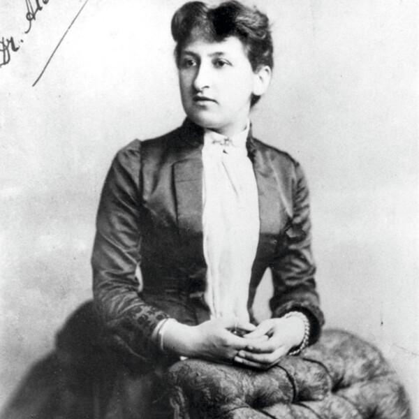 Aletta Jacobs portrait ca 1880. © Atria