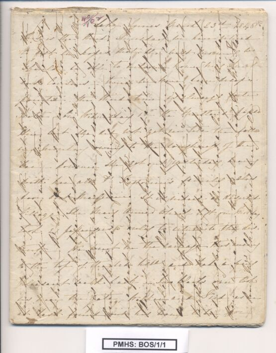 Annabella Boswell's Papers